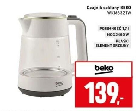 Czajnik elektryczny WKM6321W Beko