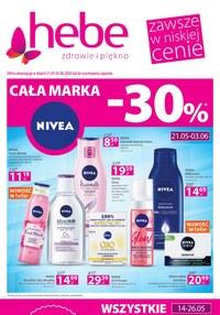 Gazetka promocyjna Hebe - Promocje w sklepach Hebe - ważna do 03-06-2020