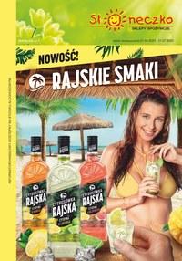 Gazetka promocyjna Słoneczko - Katalog alkoholi Słoneczko - ważna do 21-07-2020