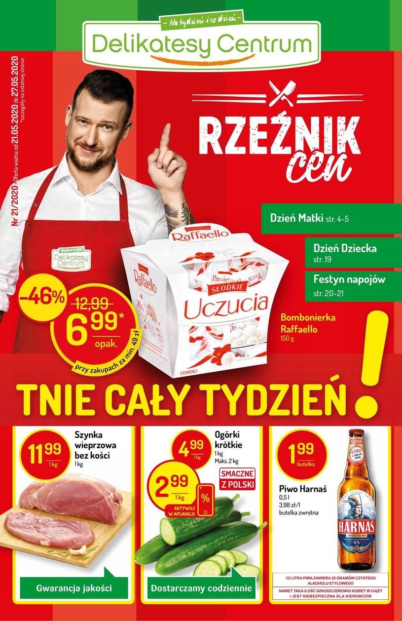 Delikatesy Centrum: 1 gazetka
