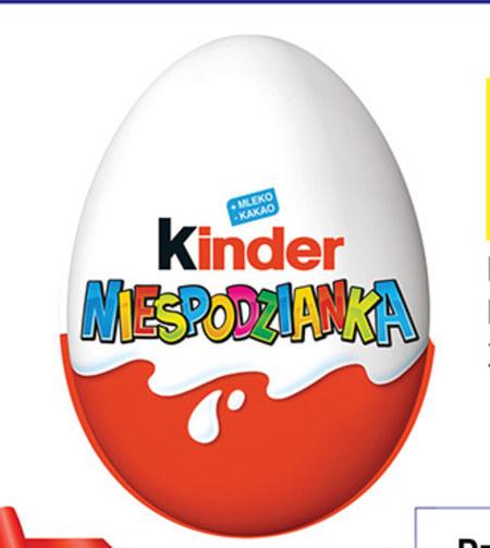 Jajko czekoladowe Kinder
