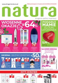 Gazetka promocyjna Drogerie Natura - Drogeria pełna inspiracji - Natura - ważna do 03-06-2020