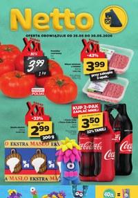 Gazetka promocyjna Netto - Gazetka spożywcza Netto - ważna do 30-05-2020