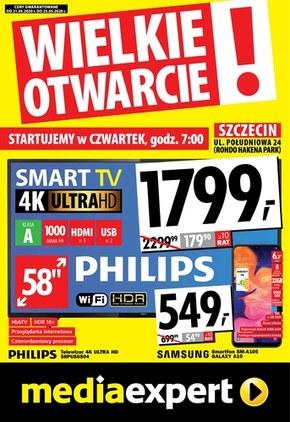 Wielkie otwarcie Media Expert - Szczecin