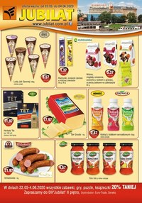 Gazetka promocyjna Jubilat - Promocje w sklepach Jubilat - ważna do 04-06-2020