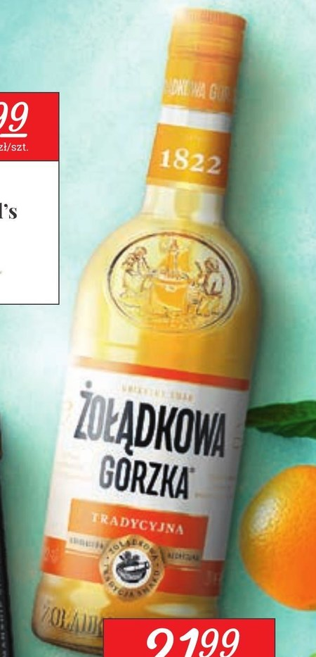 Wódka Żołądkowa Gorzka