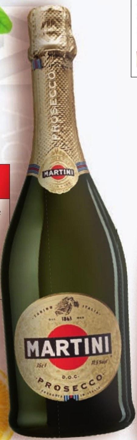 Wino musujące Martini