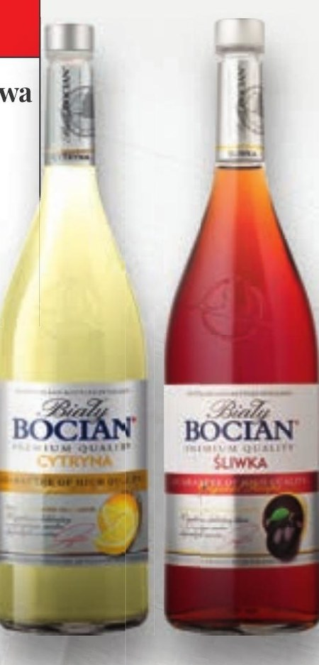 Wódka smakowa Biały Bocian
