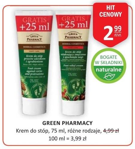 Krem do stóp Green Pharmacy