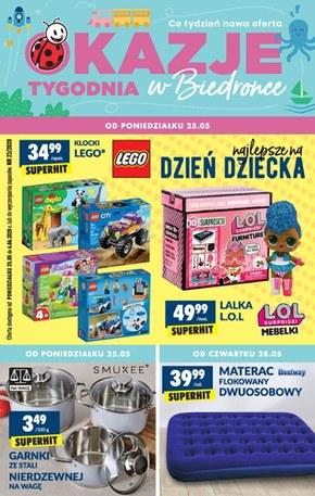 Najlepsze prezenty na Dzień Dziecka  w Biedronce