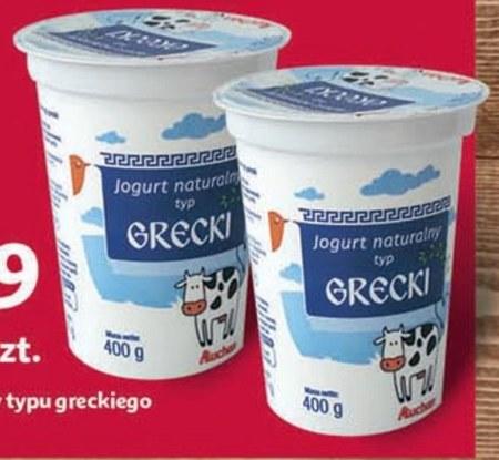 Jogurt naturalny Auchan