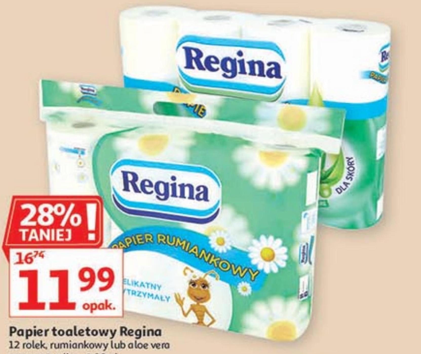 Papier toaletowy Regina niska cena