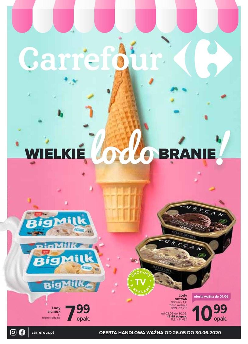 Gazetka promocyjna Carrefour - ważna od 26. 05. 2020 do 30. 06. 2020