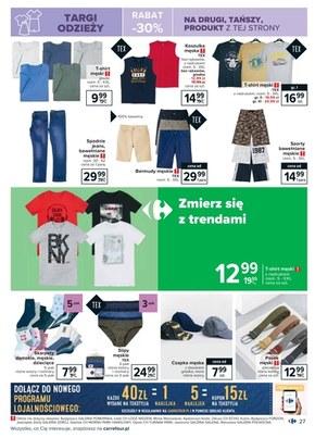 Gazetka promocyjna Carrefour
