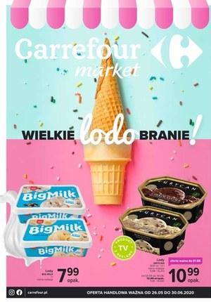 Gazetka promocyjna Carrefour Market - Wielkie lodobranie w Carrefour Market
