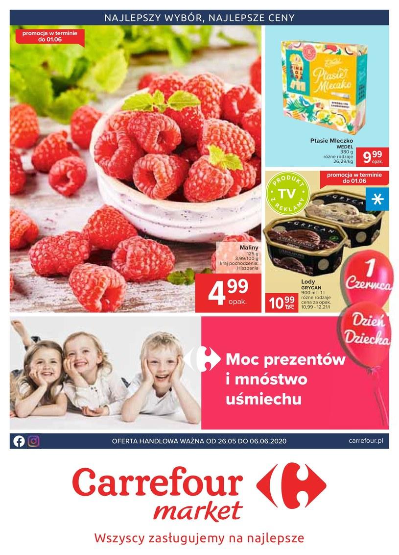 Gazetka promocyjna Carrefour Market - ważna od 26. 05. 2020 do 06. 06. 2020