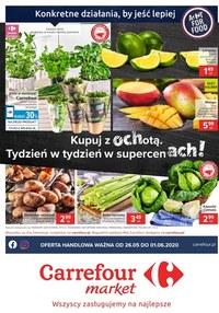 Gazetka promocyjna Carrefour Market - Carrefour Market - kupuj z ochotą - ważna do 01-06-2020
