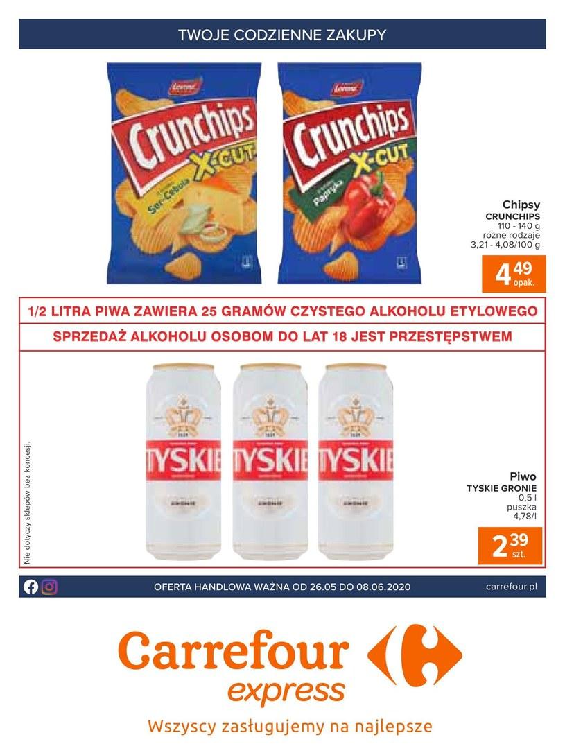Carrefour Express: 8 gazetki