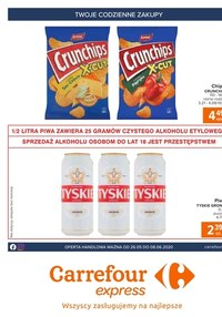 Gazetka promocyjna Carrefour Express - Twoje codzienne zakupy - Carrefour Express - ważna do 08-06-2020