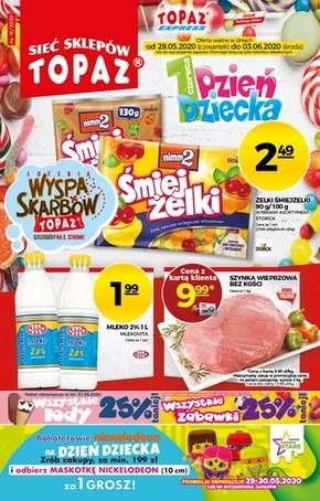 Promocje na Dzień Dziecka w sklepach Topaz