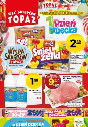 Gazetka promocyjna Topaz - Promocje na Dzień Dziecka w sklepach Topaz