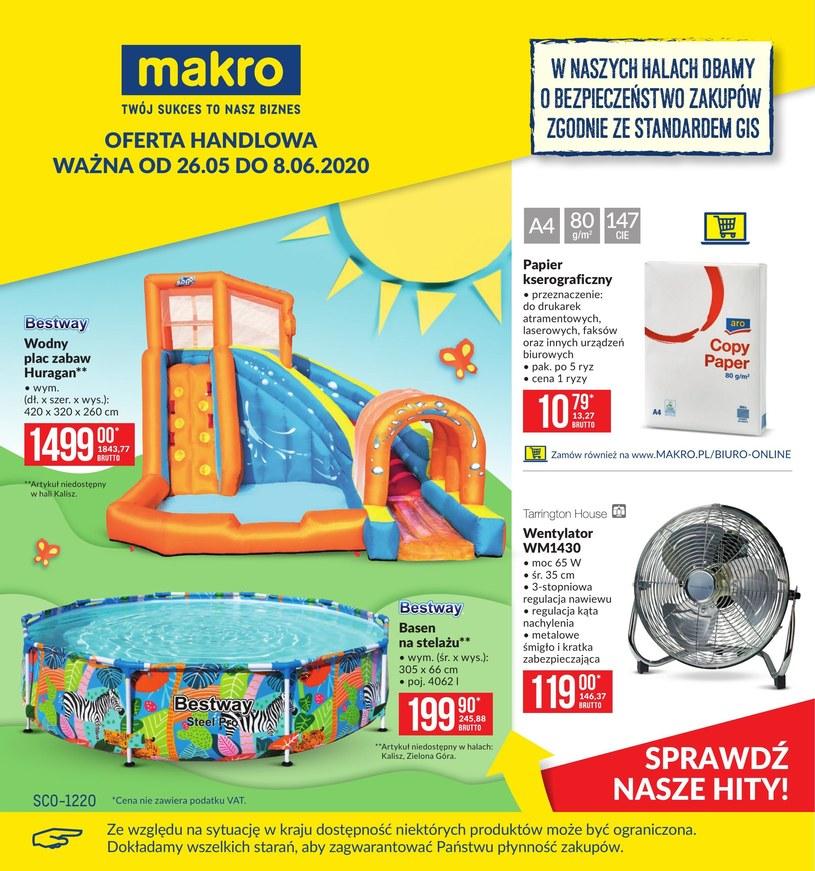 Gazetka promocyjna Makro Cash&Carry - ważna od 26. 05. 2020 do 08. 06. 2020