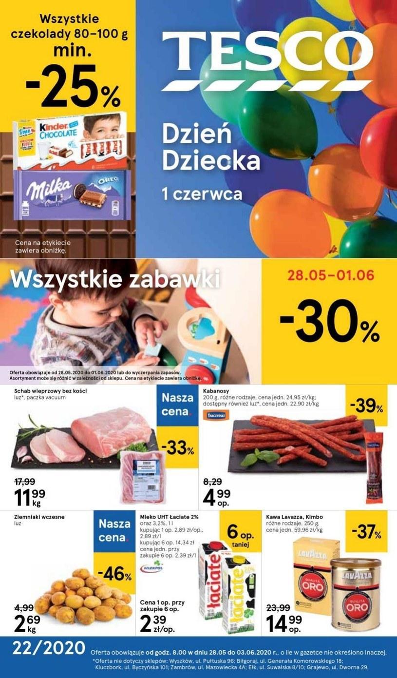 Gazetka promocyjna Tesco Centra Handlowe - ważna od 28. 05. 2020 do 03. 06. 2020