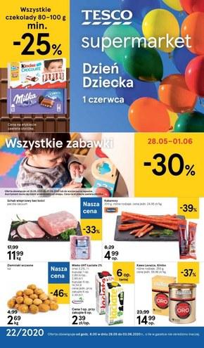 Najnowsze promocje w Tesco Supermarket