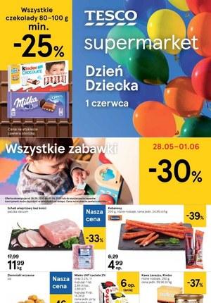 Gazetka promocyjna Tesco Supermarket - Najnowsze promocje w Tesco Supermarket