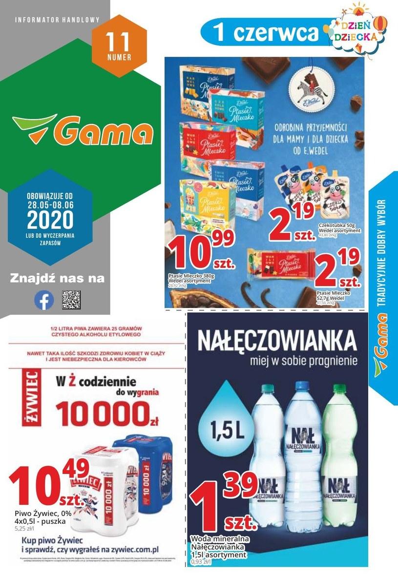 Gazetka promocyjna Gama - ważna od 28. 05. 2020 do 08. 06. 2020
