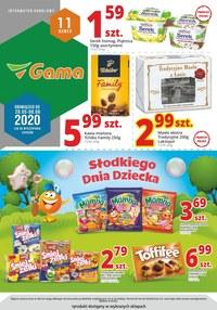 Gazetka promocyjna Gama - Promocje na Dzień Dziecka w Gama