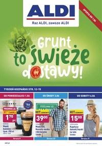Gazetka promocyjna Aldi - Grunt to świeże dostawy - Aldi - ważna do 06-06-2020