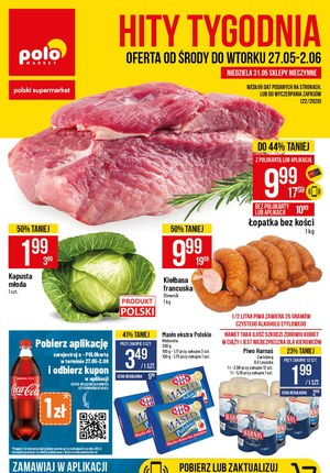 Gazetka promocyjna POLOmarket - Polomarket - oferta od środy do wtorku