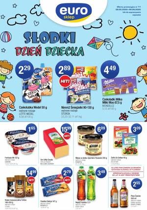 Gazetka promocyjna Euro Sklep - Słodki Dzień Dziecka w Euro Sklep