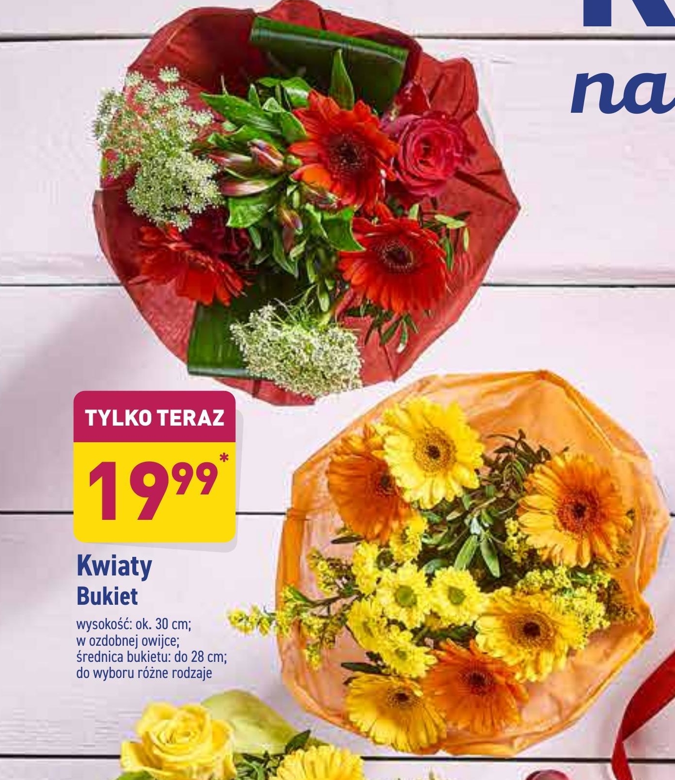 Kwiaty niska cena