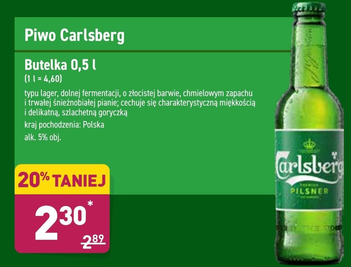 Piwo Carlsberg niska cena