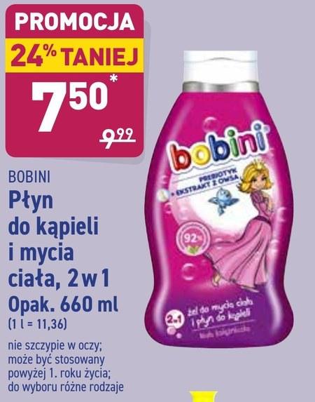 Płyn do kąpieli Bobini
