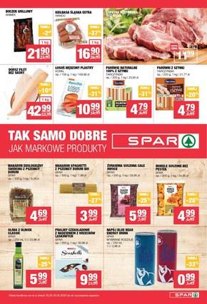 Promocje w sklepach Spar