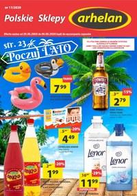 Gazetka promocyjna Arhelan - Promocje na ciepłe dni w Arhelan - ważna do 06-06-2020
