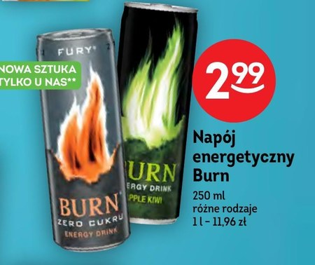 Napój energetyczny Burn