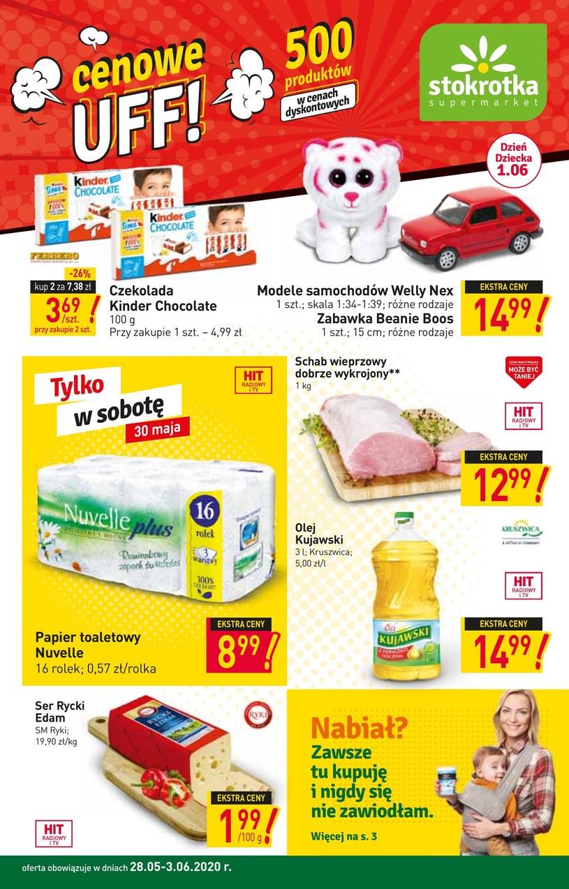 Gazetka promocyjna Stokrotka Supermarket - ważna od 28. 05. 2020 do 03. 06. 2020