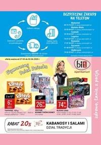 Gazetka promocyjna bi1 - Bezpieczne zakupy na telefon w Bi1 - ważna do 02-06-2020