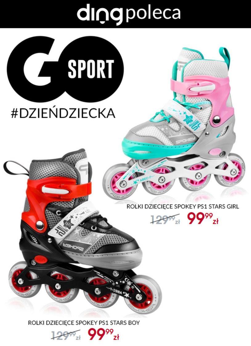 Gazetka promocyjna GO Sport - ważna od 26. 05. 2020 do 01. 06. 2020