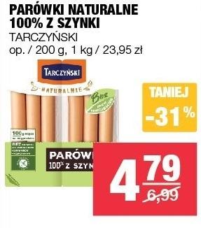 Parówki Tarczyński niska cena