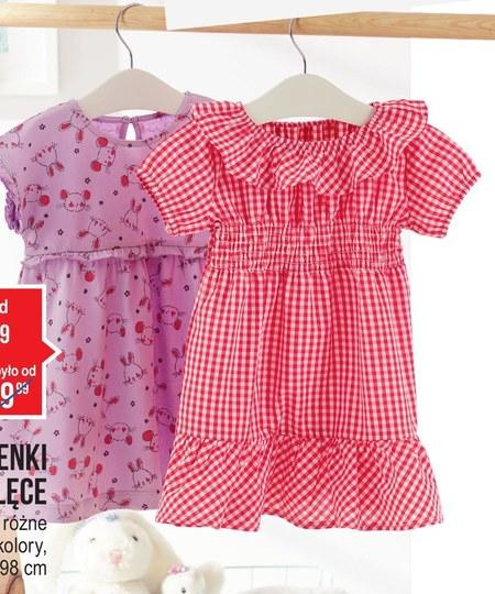 Sukienka niemowlęca Pepco