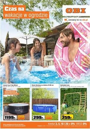 Gazetka promocyjna OBI - Czas na wakacje w ogrodzie - OBI