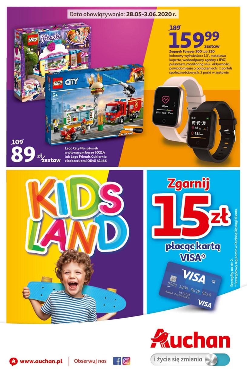 Gazetka promocyjna Auchan Hipermarket - ważna od 28. 05. 2020 do 03. 06. 2020