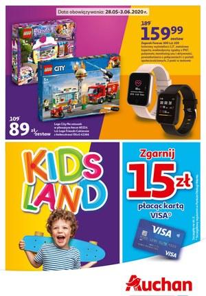 Gazetka promocyjna Auchan Hipermarket - Kup prezent na Dzień Dziecka w Auchan!