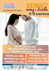 Gazetka promocyjna Akpol Baby - Kiermasz mamy i dziecka w Akpol Baby Poznań - ważna do 06-06-2020