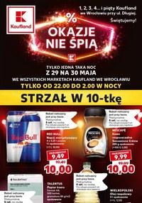 Gazetka promocyjna Kaufland - Okazje nie śpią w Kauflandzie we Wrocławiu! - ważna do 30-05-2020